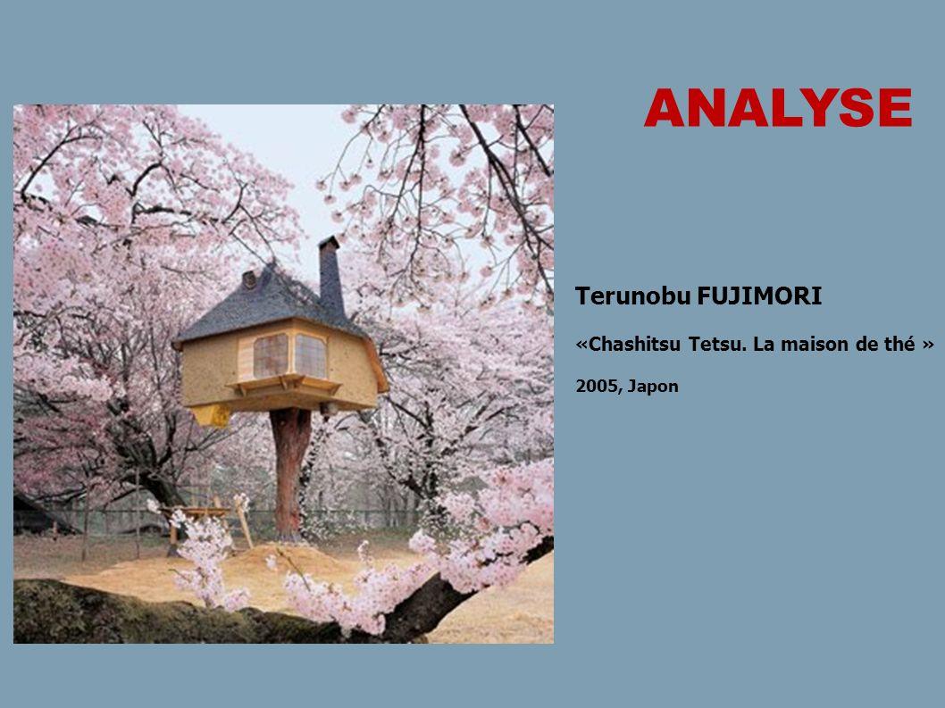 ANALYSE Terunobu FUJIMORI «Chashitsu Tetsu. La maison de thé »