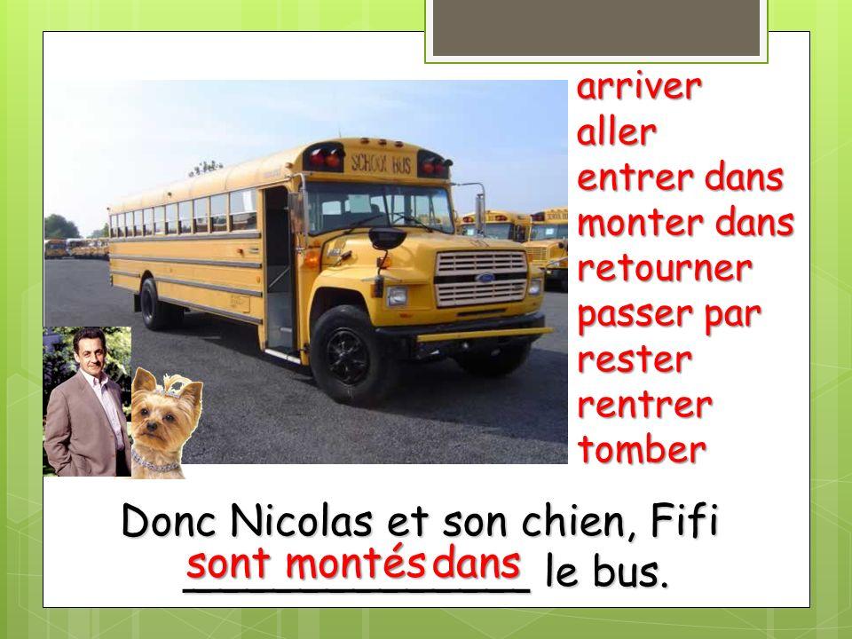 Donc Nicolas et son chien, Fifi