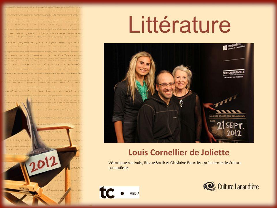 Littérature Louis Cornellier de Joliette