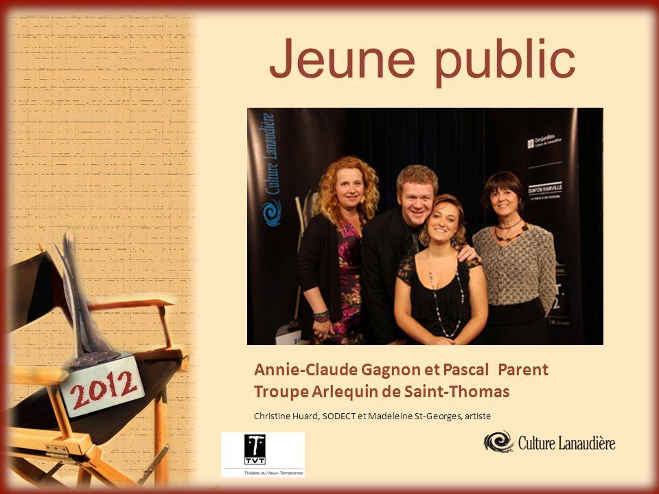 Jeune public Annie-Claude Gagnon et Pascal Parent