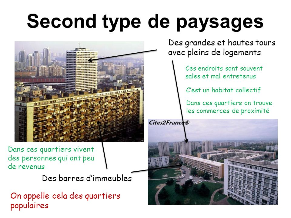 Second type de paysages