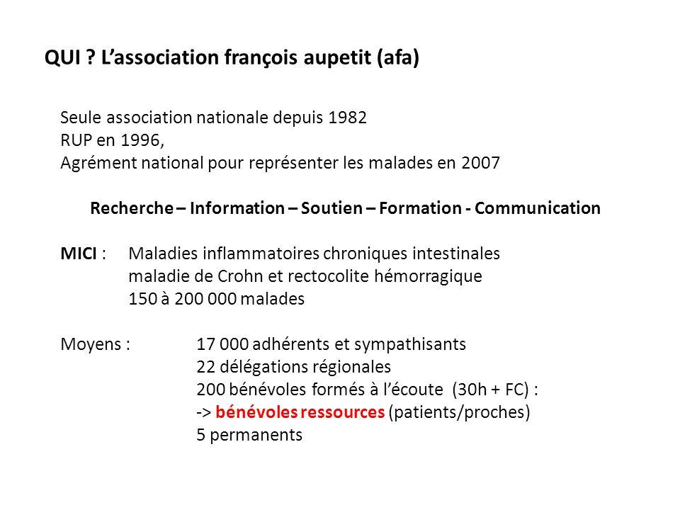 Recherche – Information – Soutien – Formation - Communication