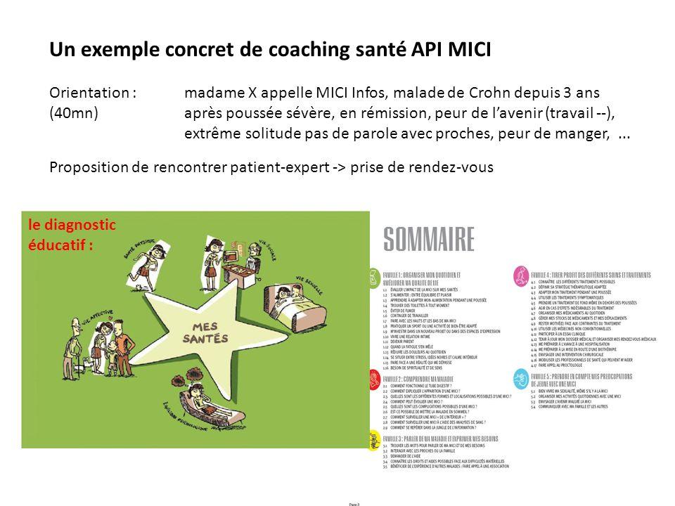 Un exemple concret de coaching santé API MICI