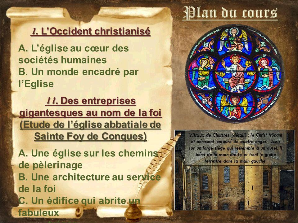 Plan du cours 1. L'Occident christianisé