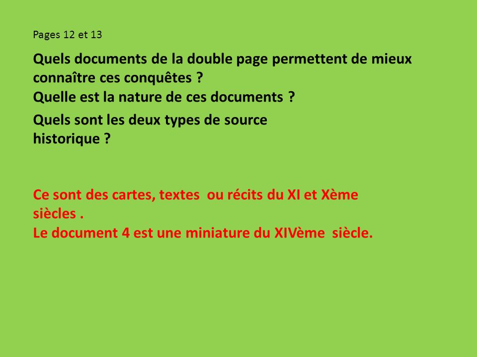Quelle est la nature de ces documents