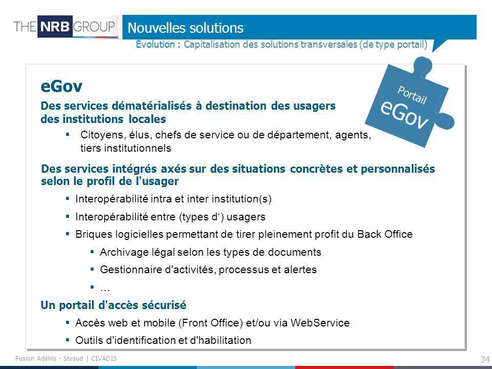 eGov Nouvelles solutions