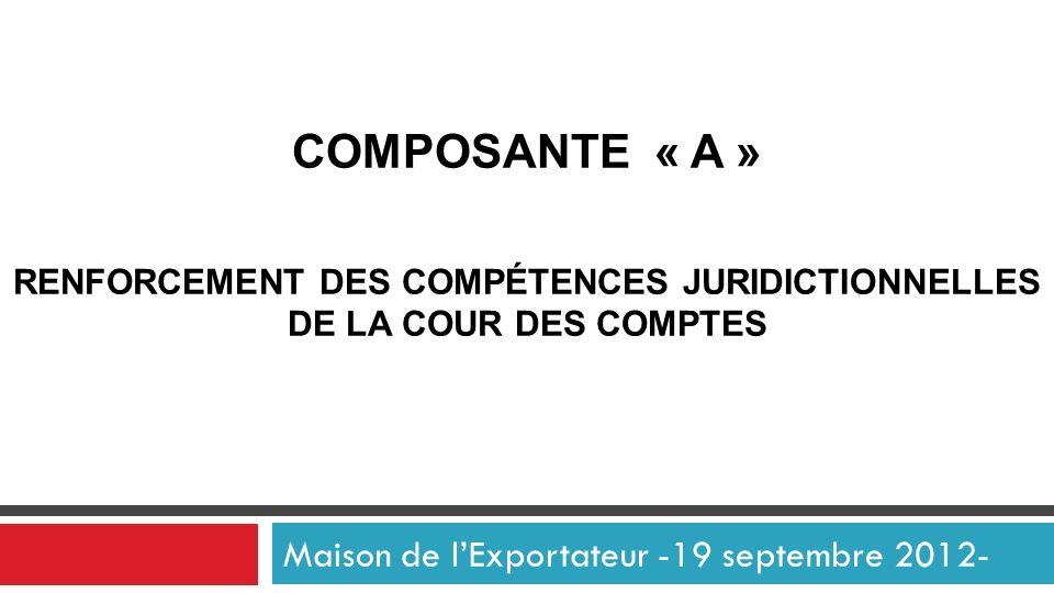 Maison de l'Exportateur -19 septembre 2012-