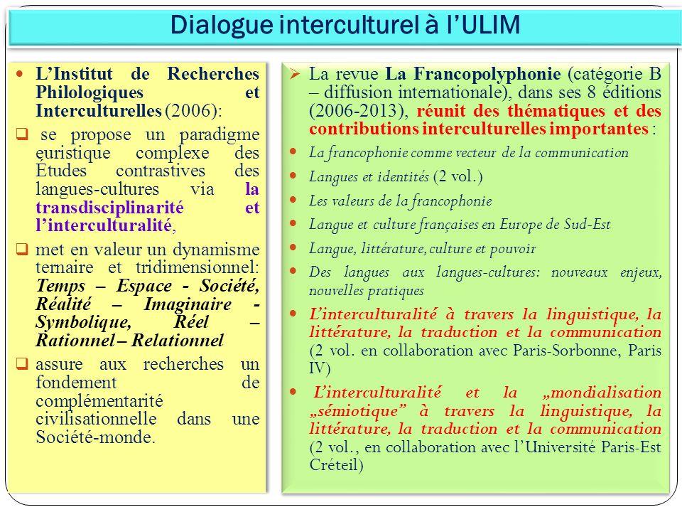Dialogue interculturel à l'ULIM