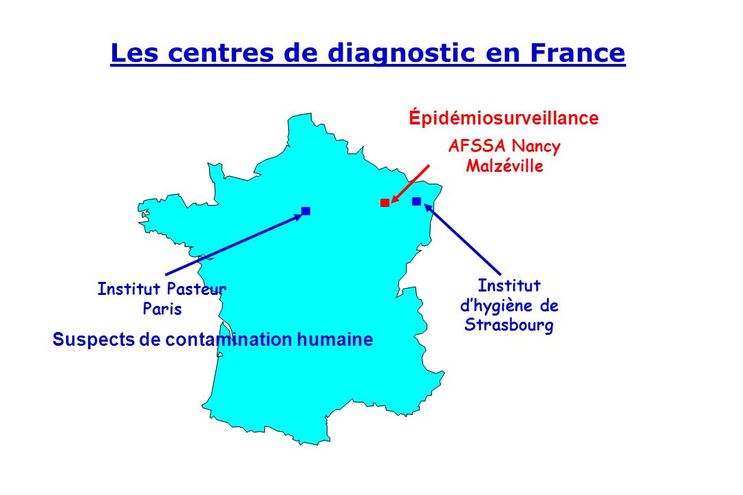 Les centres de diagnostic en France