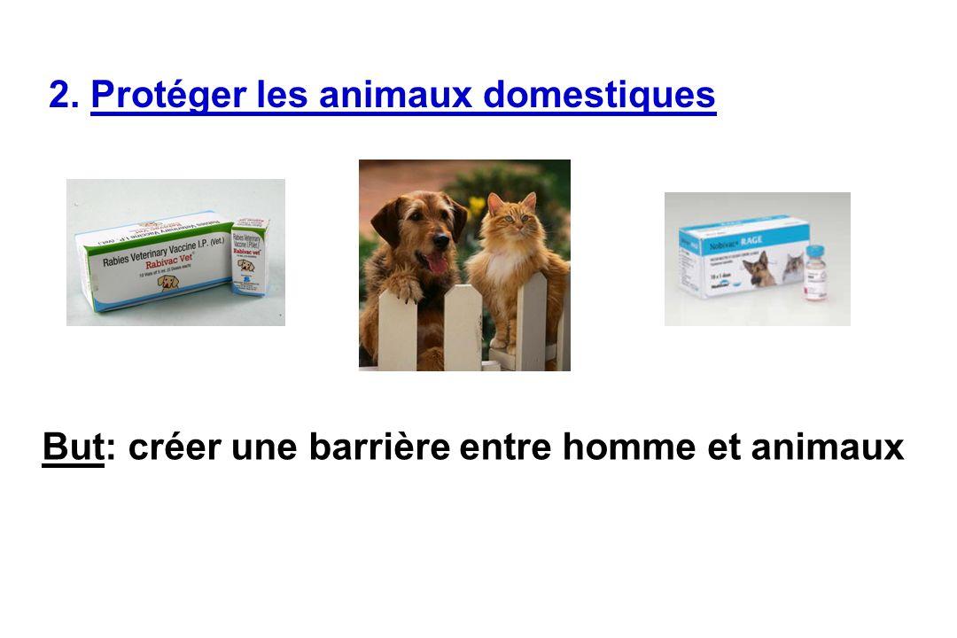 2. Protéger les animaux domestiques