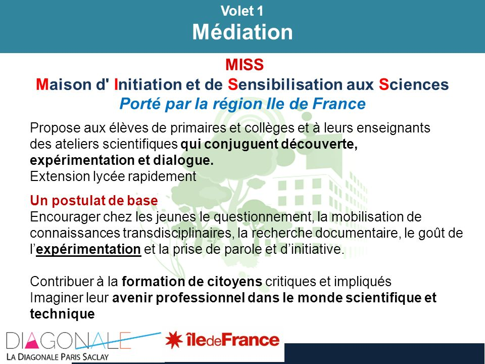 Médiation Médiation MISS
