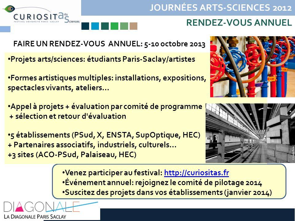 JOURNÉES ARTS-SCIENCES 2012