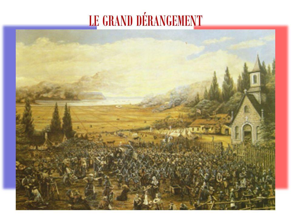 LE GRAND DÉRANGEMENT