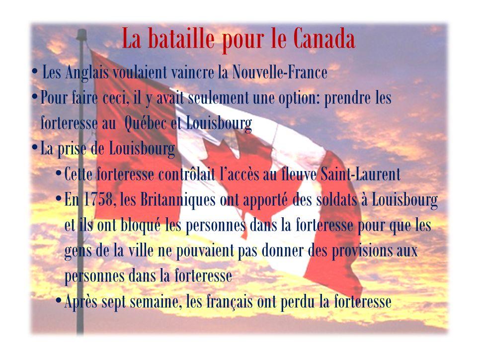 La bataille pour le Canada