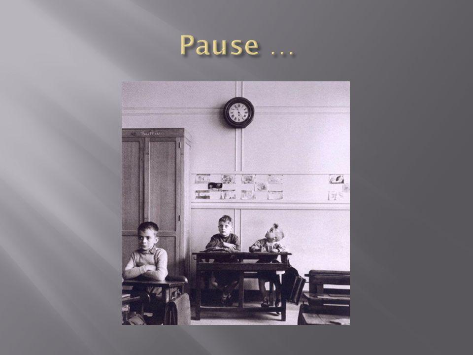 Pause …