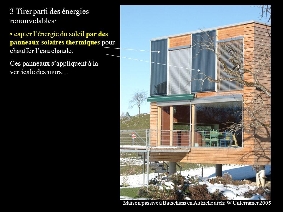3 Tirer parti des énergies renouvelables: