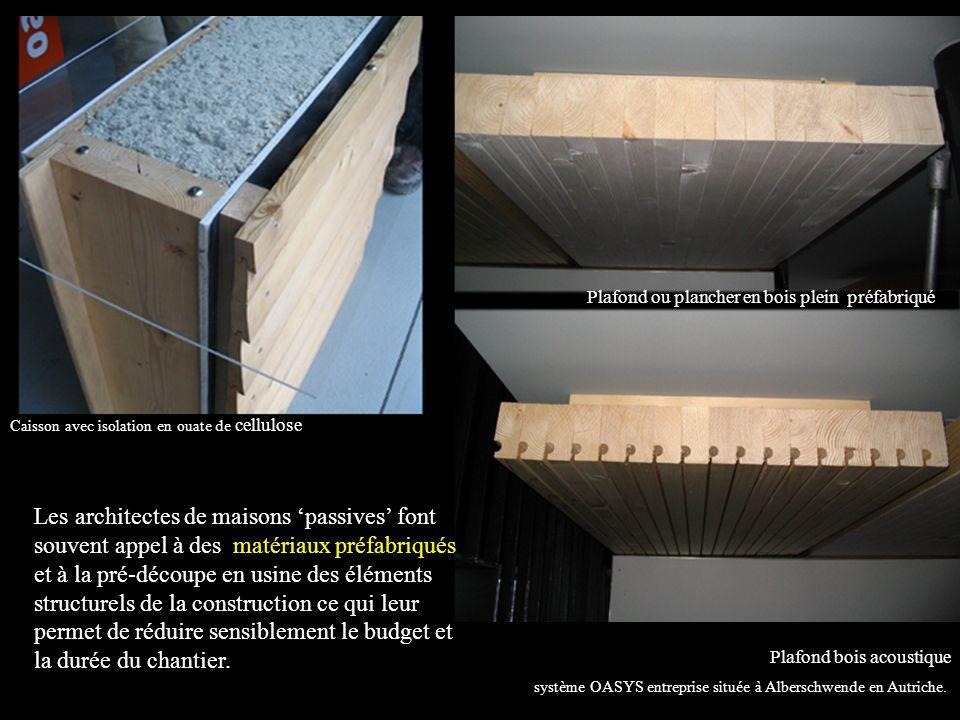 Plafond ou plancher en bois plein préfabriqué