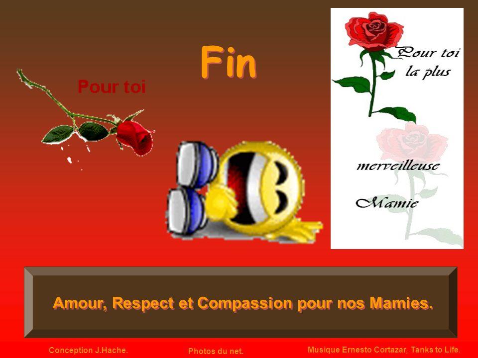 Fin Amour, Respect et Compassion pour nos Mamies.