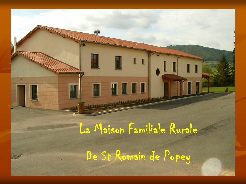 La Maison Familiale Rurale