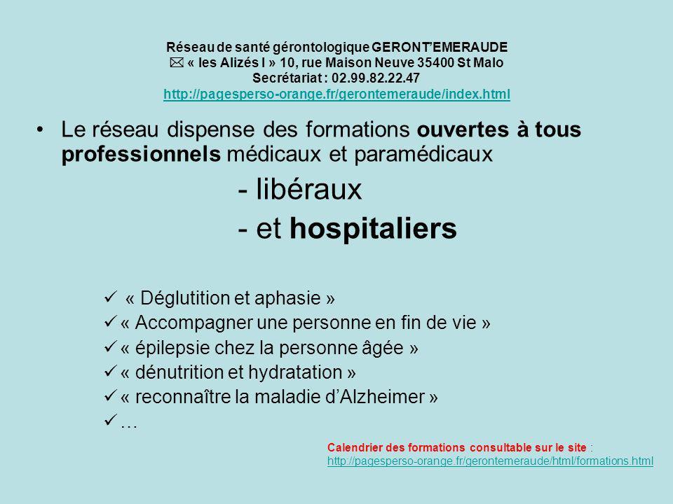 - libéraux - et hospitaliers
