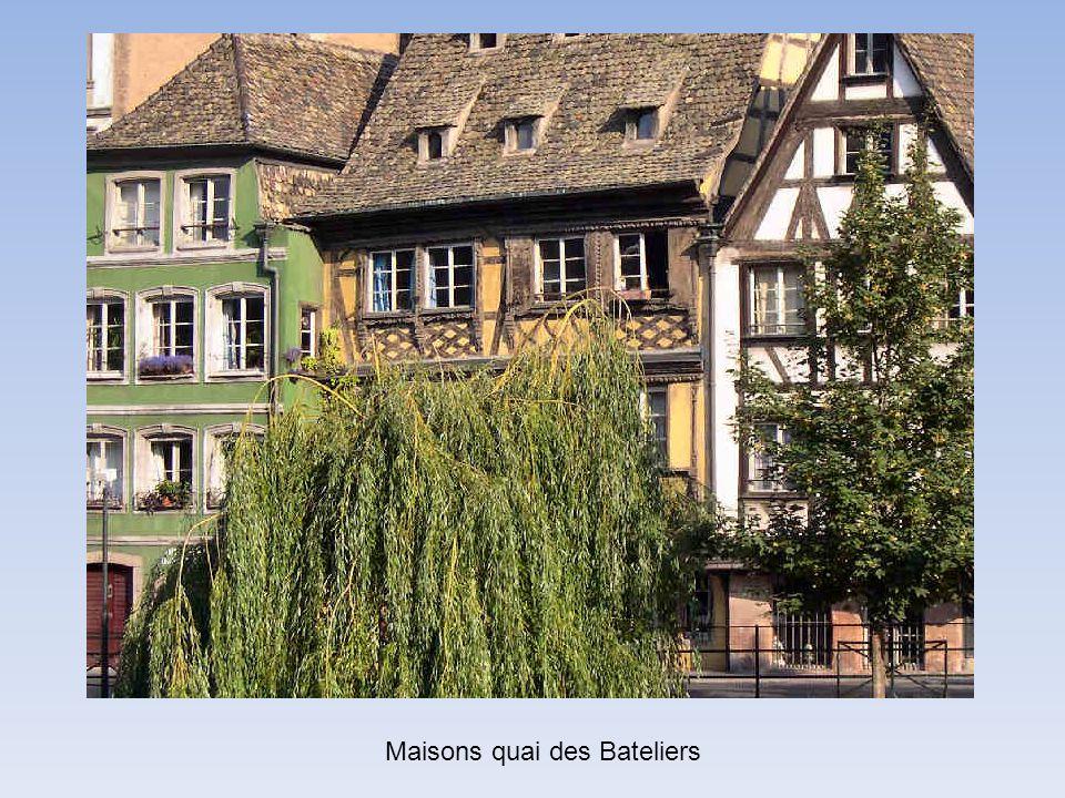 Maisons quai des Bateliers