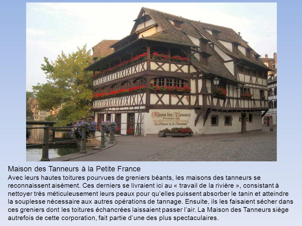 Maison des Tanneurs à la Petite France