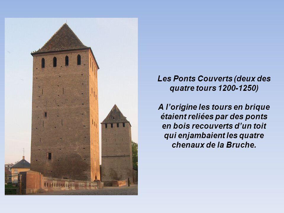 Les Ponts Couverts (deux des quatre tours 1200-1250)