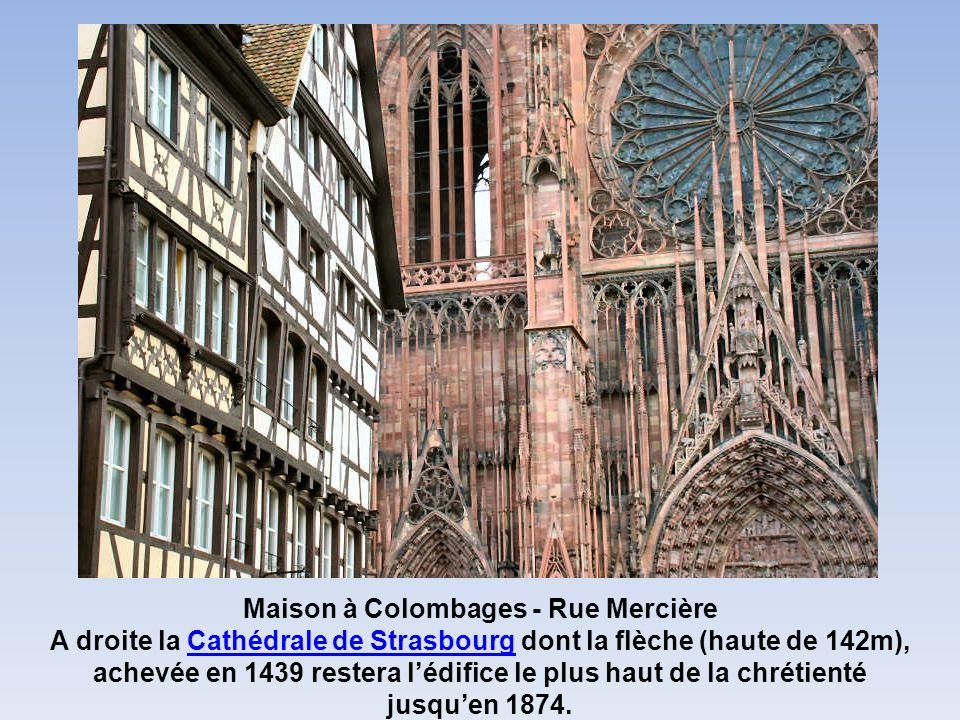Maison à Colombages - Rue Mercière