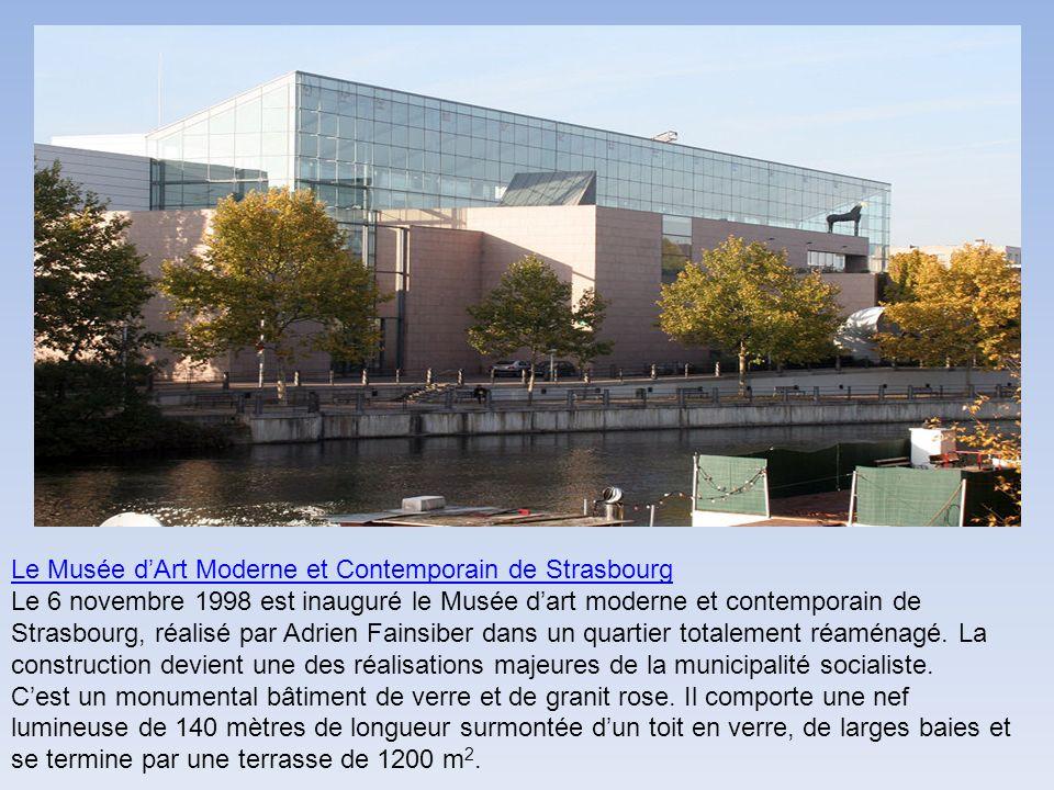 Le Musée d'Art Moderne et Contemporain de Strasbourg