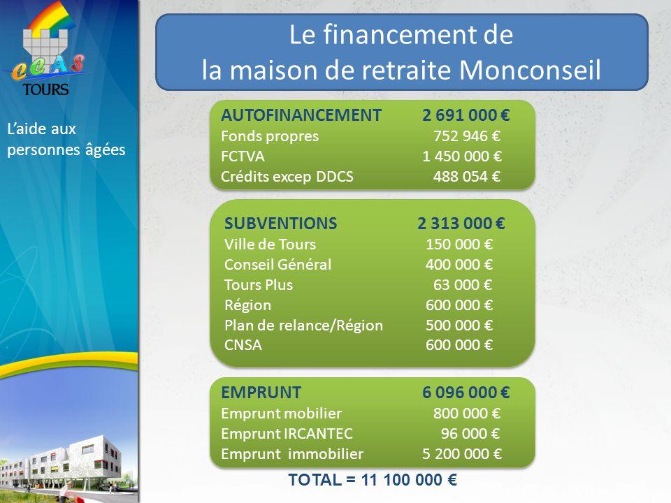 la maison de retraite Monconseil