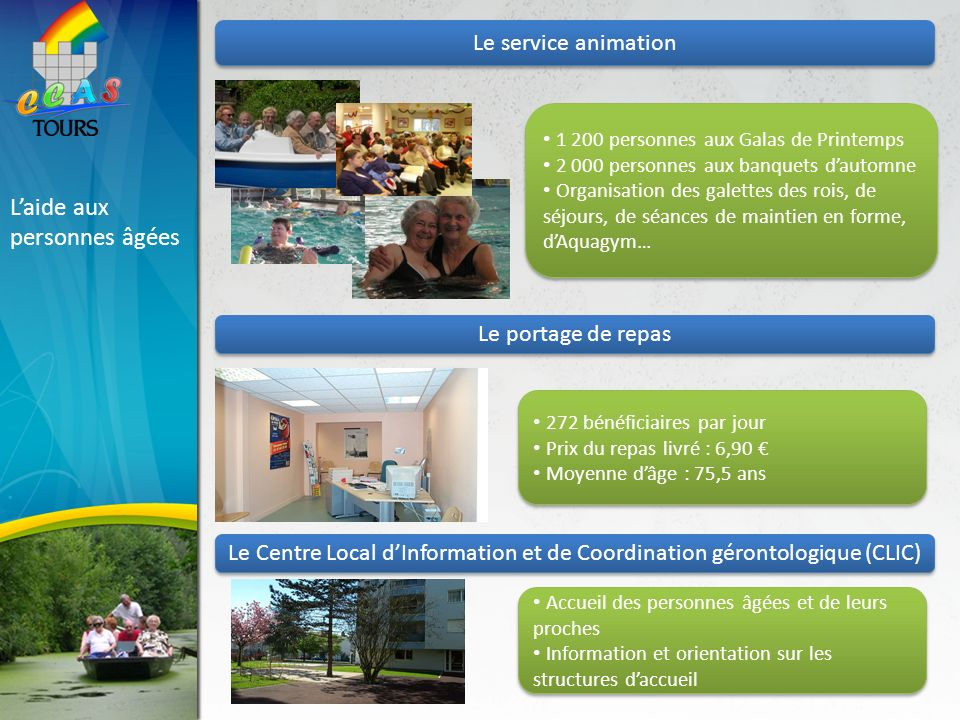 Le Centre Local d'Information et de Coordination gérontologique (CLIC)