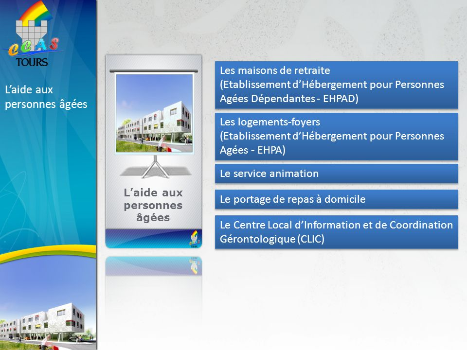 Centre communal d action sociale ppt t l charger for Aide sociale personnes agees maison de retraite