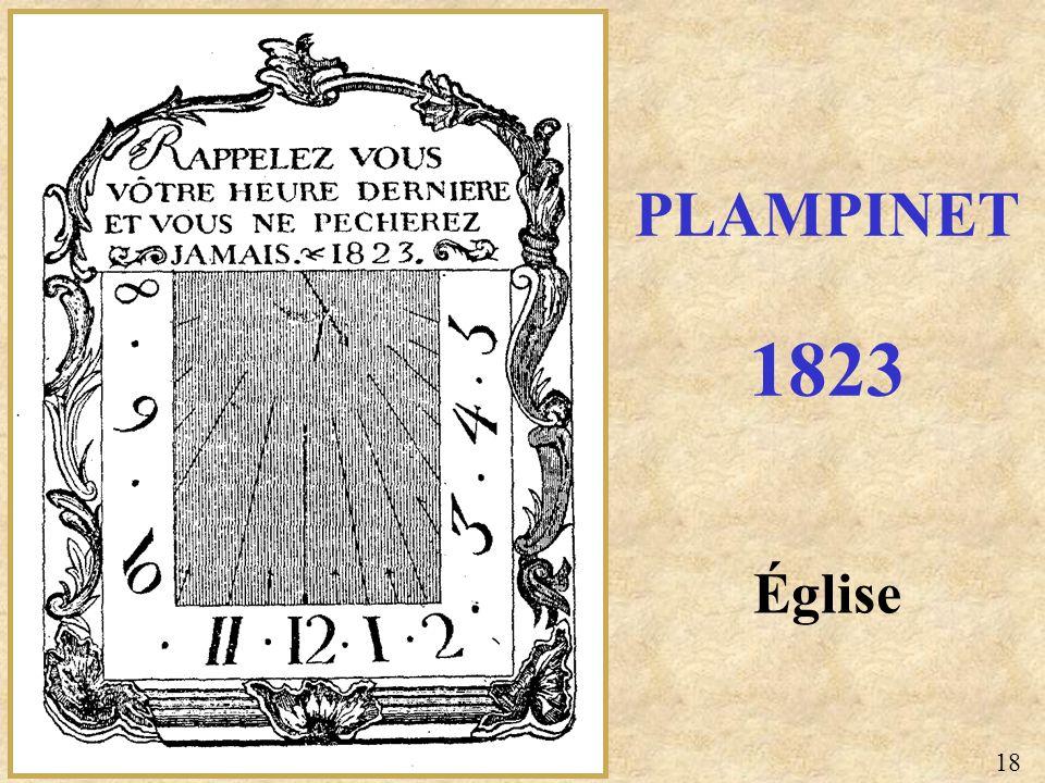 PLAMPINET 1823 Église 18