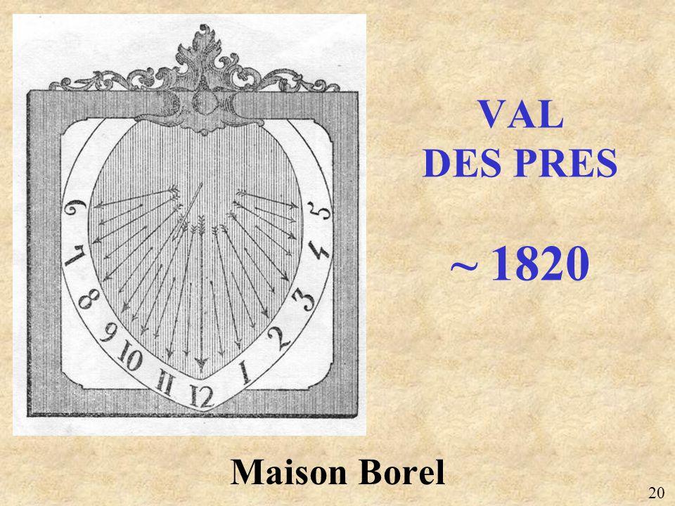 VAL DES PRES ~ 1820 Maison Borel 20