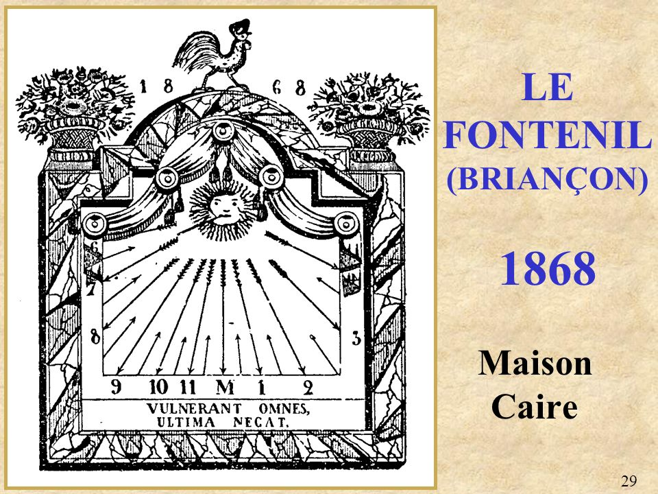 LE FONTENIL (BRIANÇON) 1868