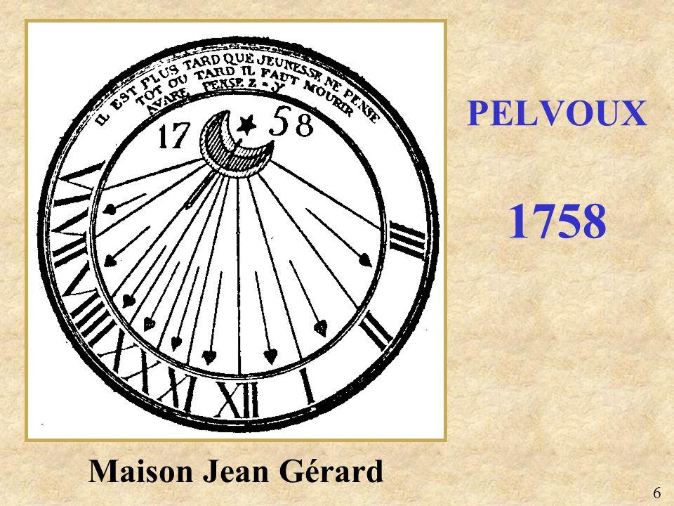 PELVOUX 1758 Maison Jean Gérard 6