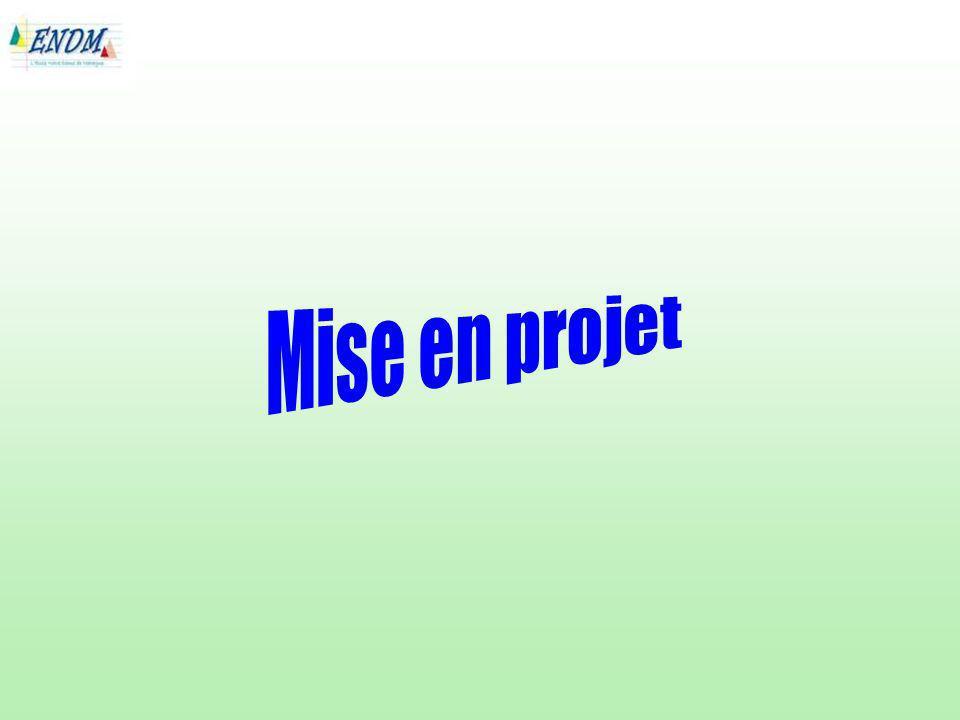 Mise en projet