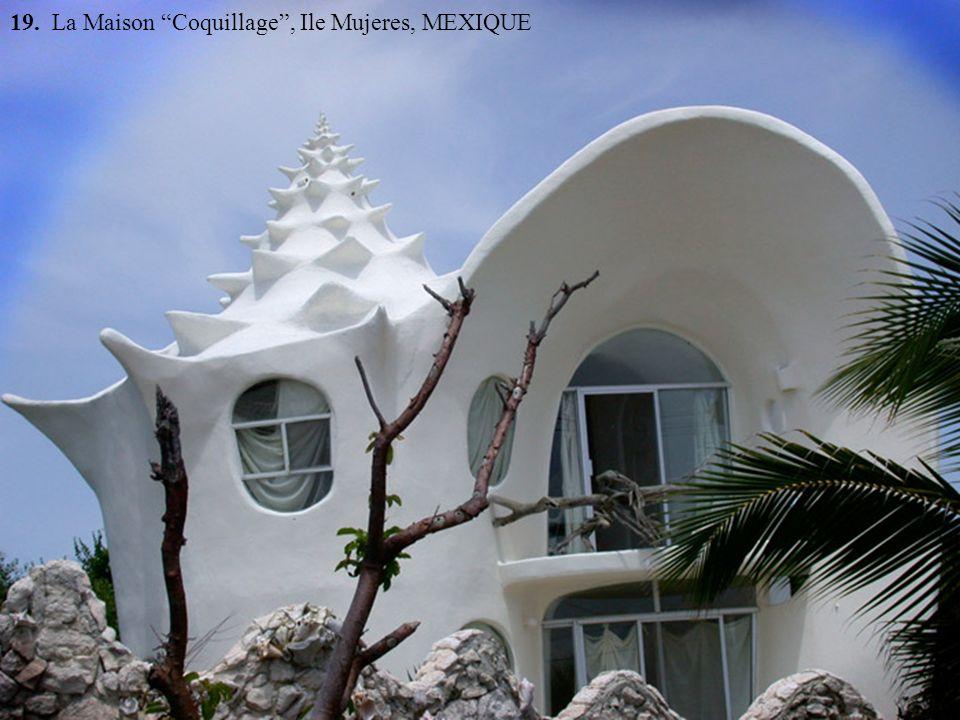 19. La Maison Coquillage , Ile Mujeres, MEXIQUE