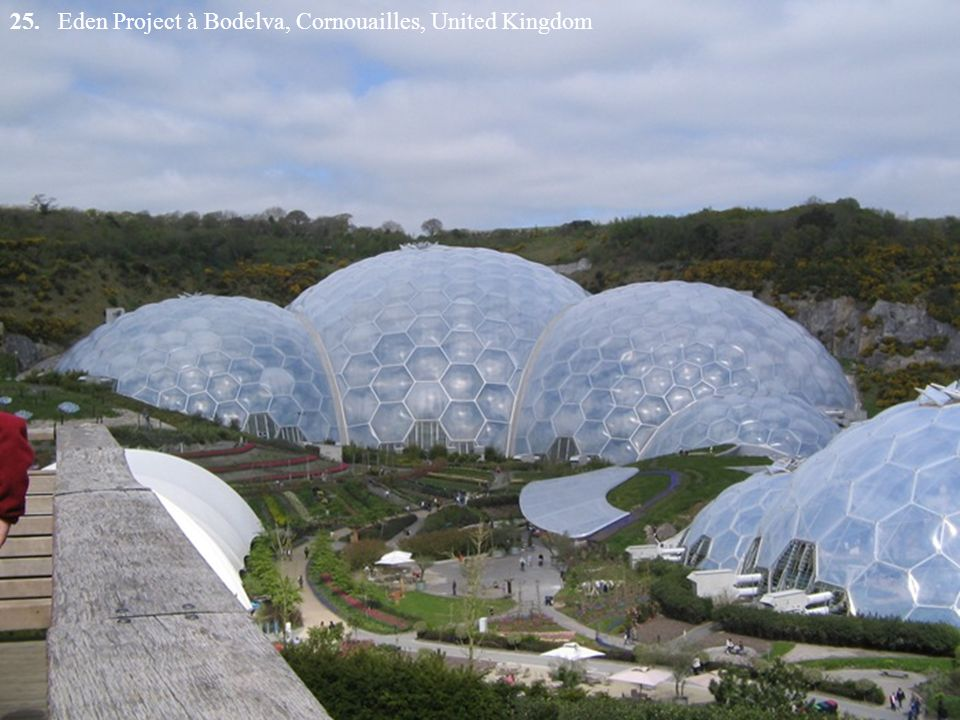 25. Eden Project à Bodelva, Cornouailles, United Kingdom