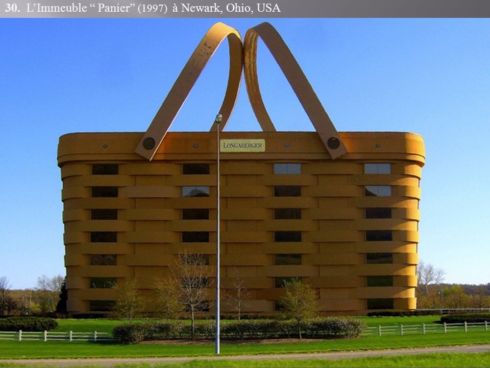 30. L'Immeuble Panier (1997) à Newark, Ohio, USA