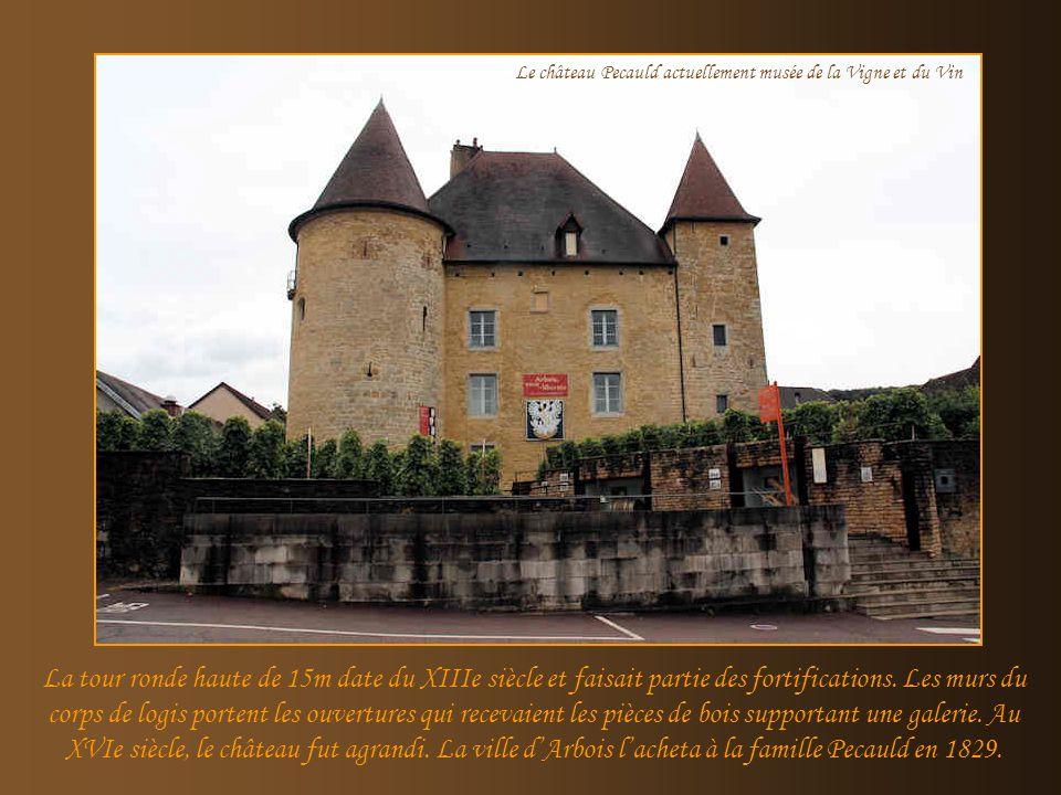 Le château Pecauld actuellement musée de la Vigne et du Vin