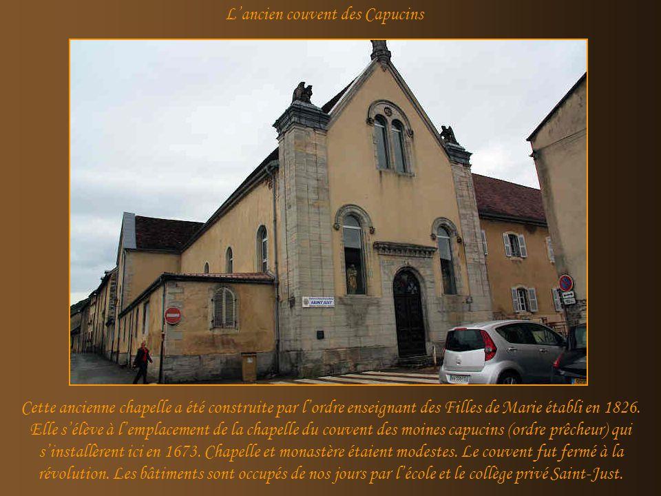 L'ancien couvent des Capucins