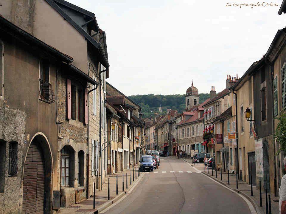 La rue principale d'Arbois