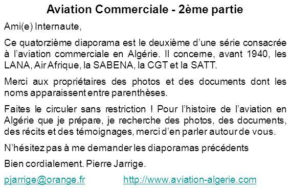 Aviation Commerciale - 2ème partie