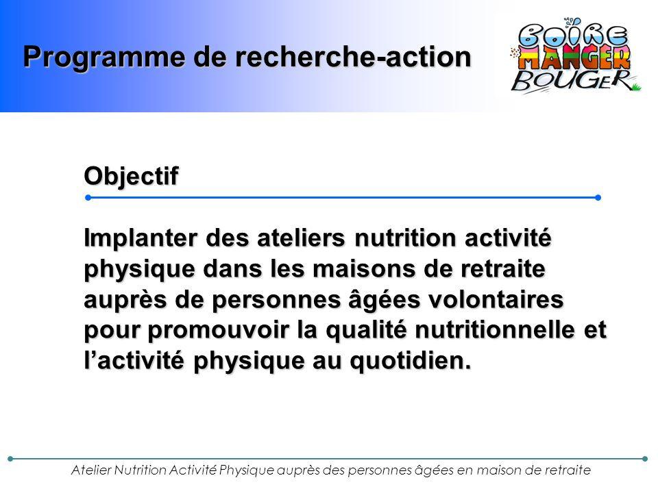 Programme de recherche-action
