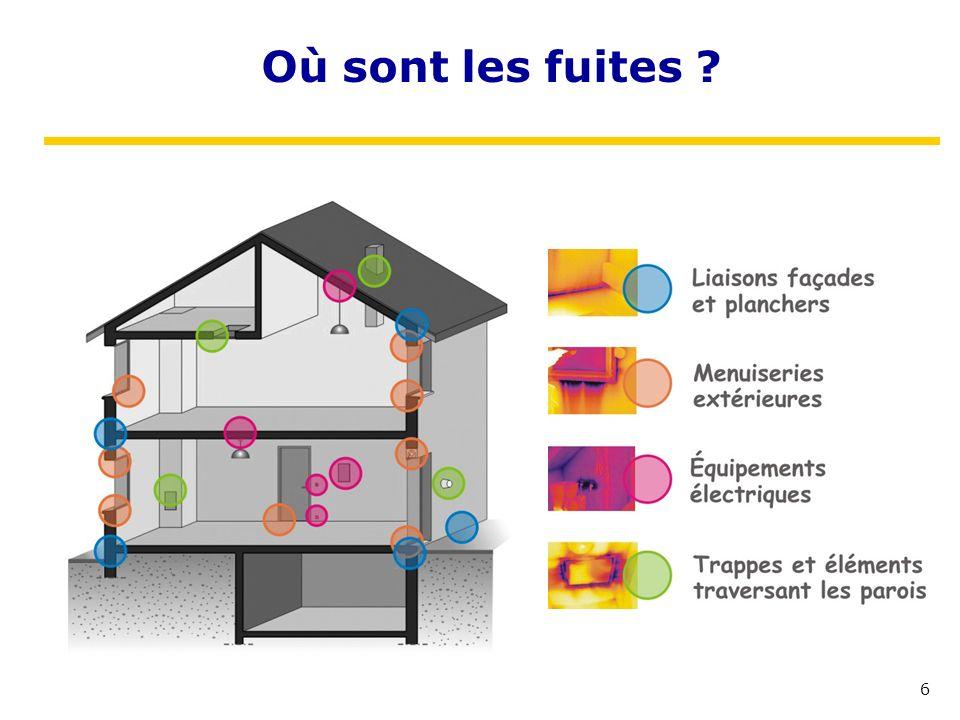 Où sont les fuites CETE de Lyon