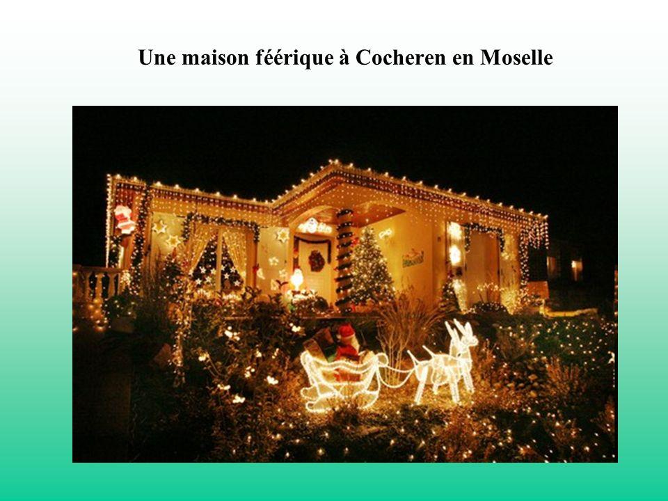 Une maison féérique à Cocheren en Moselle