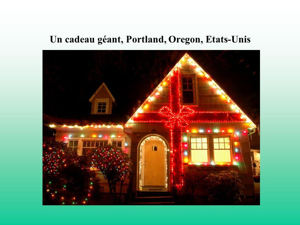 Un cadeau géant, Portland, Oregon, Etats-Unis