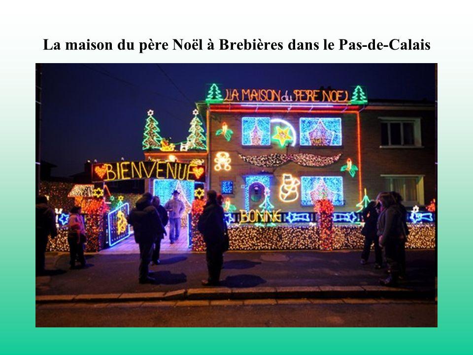 La maison du père Noël à Brebières dans le Pas-de-Calais