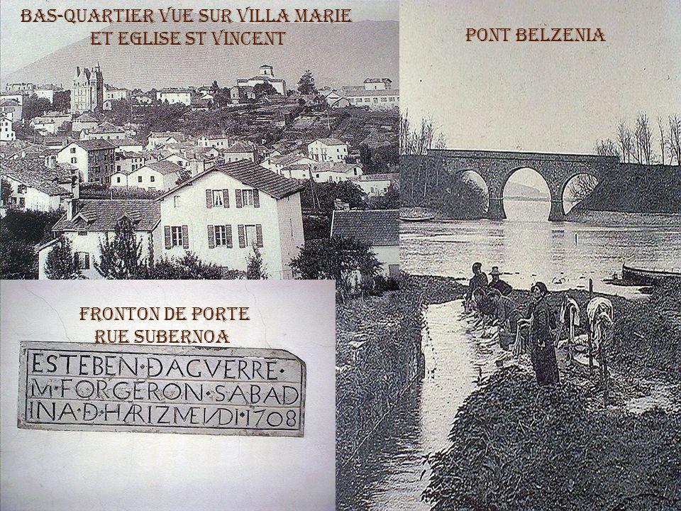 Zorionak Bas-Quartier Vue sur villa Marie